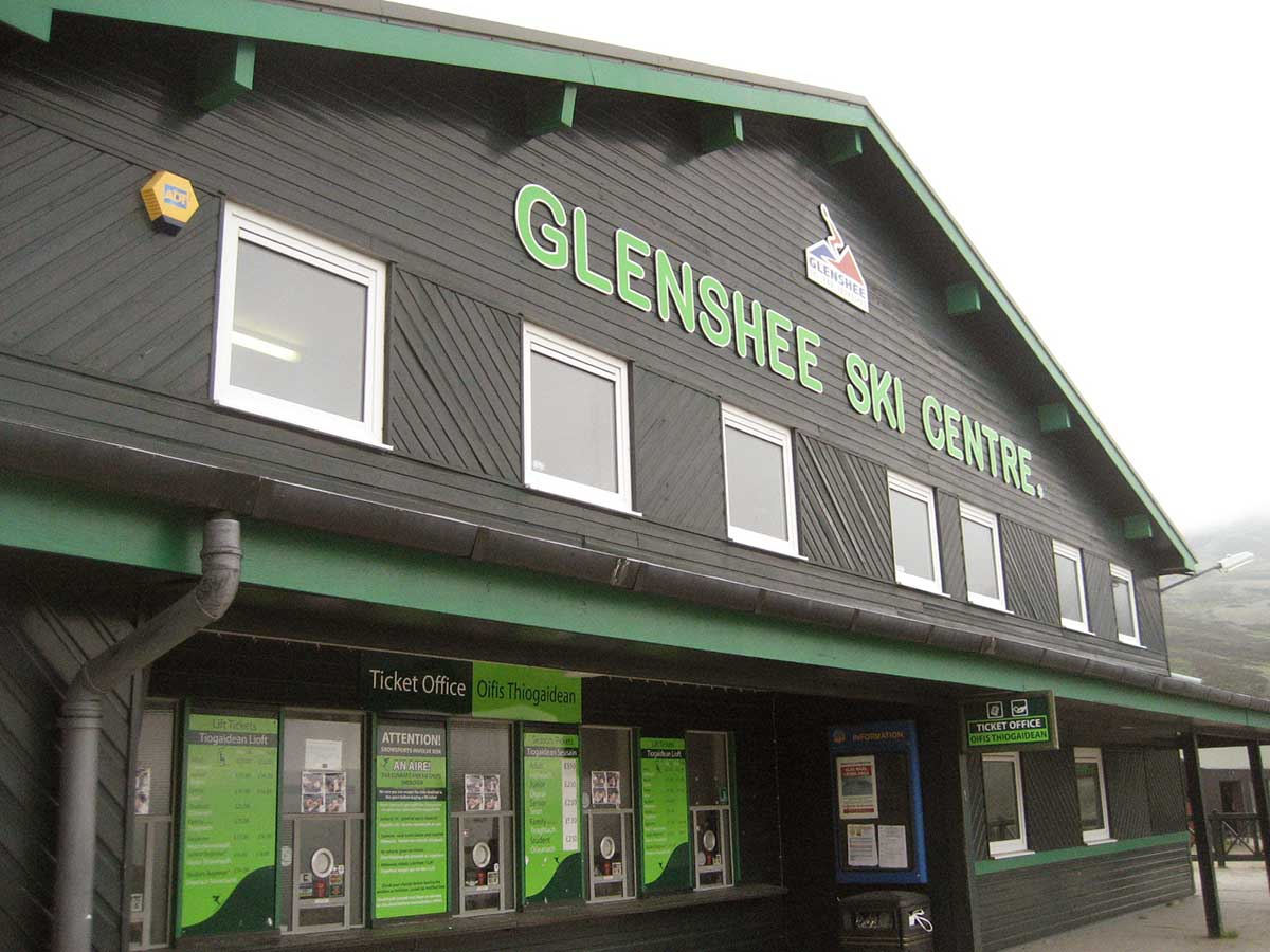 Visitor information for Glenshee Skiing + snowboarding centre in Scotland UK