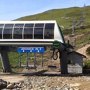 The new Cairnwell chair lift will be opening everyday weather permitting through out July and August serving walkers and climbers exploring the Bremar landscape.