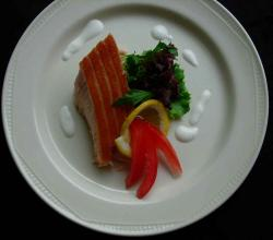 Salmon by Glenshee Ski catering