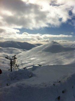 Active breaks classic Glenshee snowy mountain photo